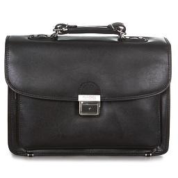 Мужские портфели из толстой натуральной кожи
