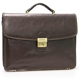 4062e5ba8429 картинка Кожаный портфель Francesco Molinary арт. 01131022 магазин Mr.Сумкин